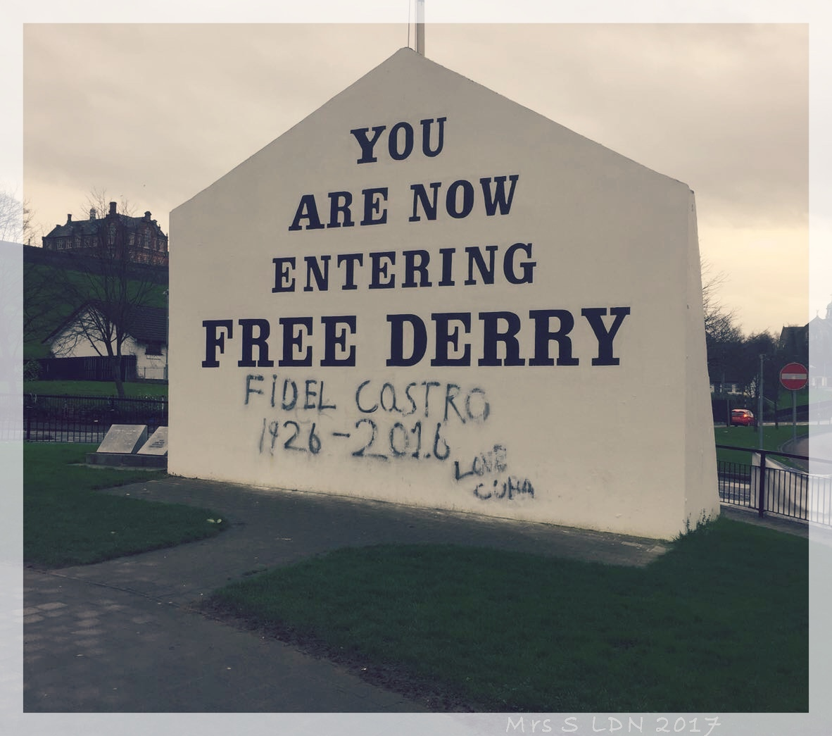 You Can't Go to the North of Ireland with out following the Coast! Free Derry