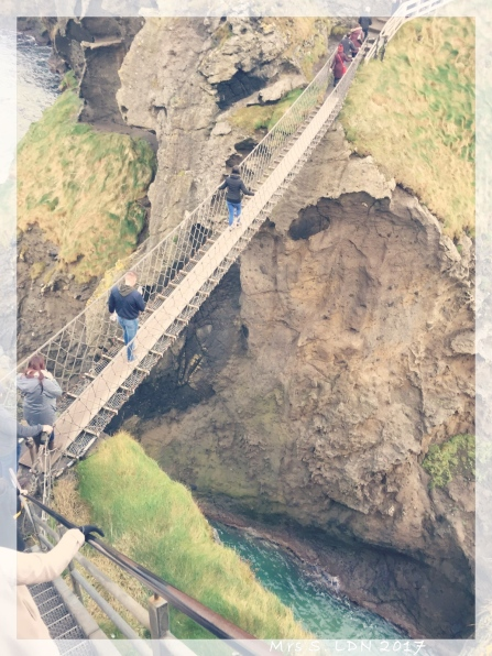 You Can't Go to the North of Ireland with out following the Coast! The Rope Bridge