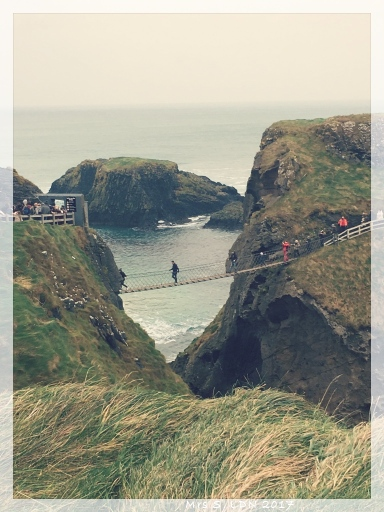 You Can't Go to the North of Ireland with out following the Coast! The Rope Bridge - Himself